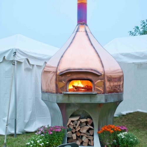 outdoor copper oven