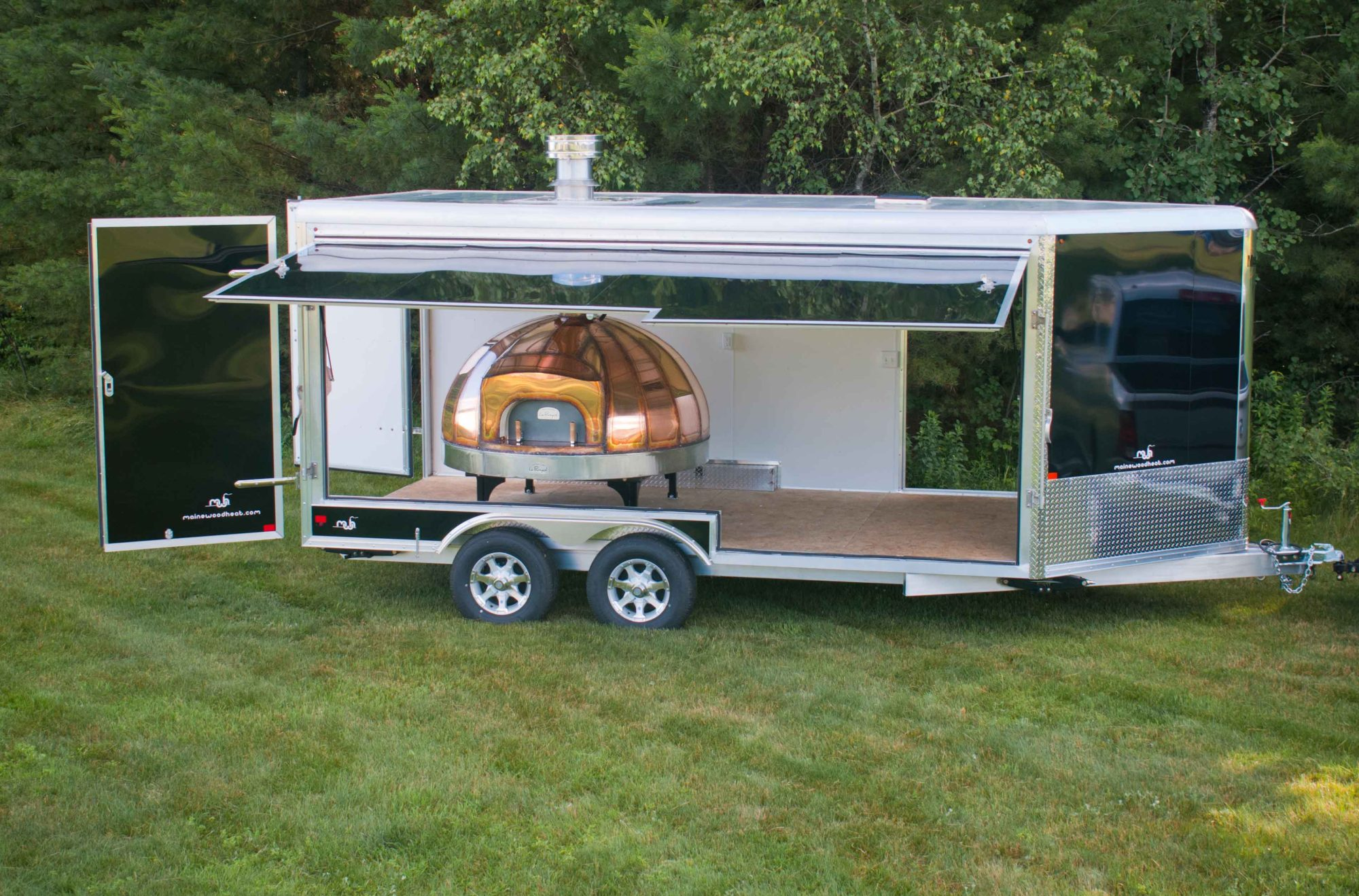 Mobile Enclosed Oven Maine Wood Heat Co Inc