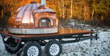Copper Dome 120 Oven, Large Rib-style Trailer